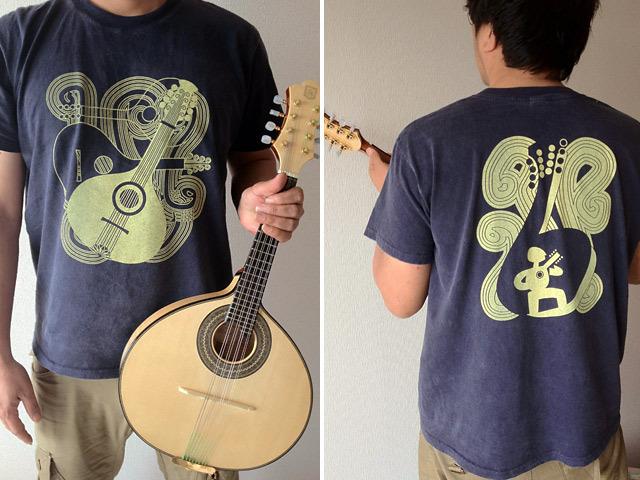 hinolismo-BandolimバンドリンTシャツ