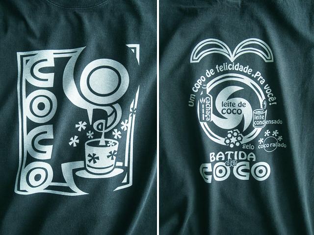 Batida de coco(バチーダ・ヂ・ココ)Tシャツ-hinolismo迷えるアイミドリ
