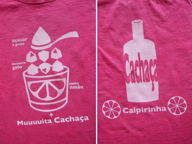hinolismo-Caipirinha初代カイピリーニャTシャツ-こだわるお客さまの迷えるTシャツカラー公開