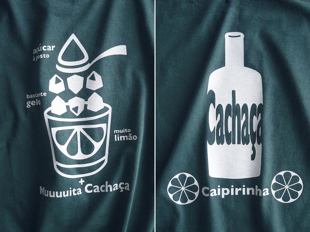 初代カイピリーニャTシャツ-hinolismo迷えるアイミドリ