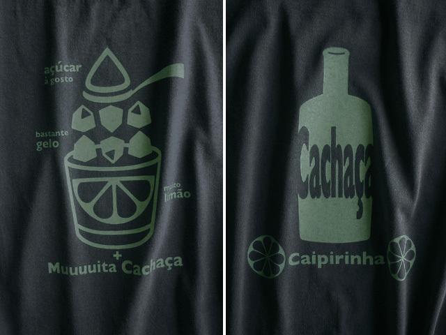 初代カイピリーニャTシャツ-hinolismo迷えるブラック