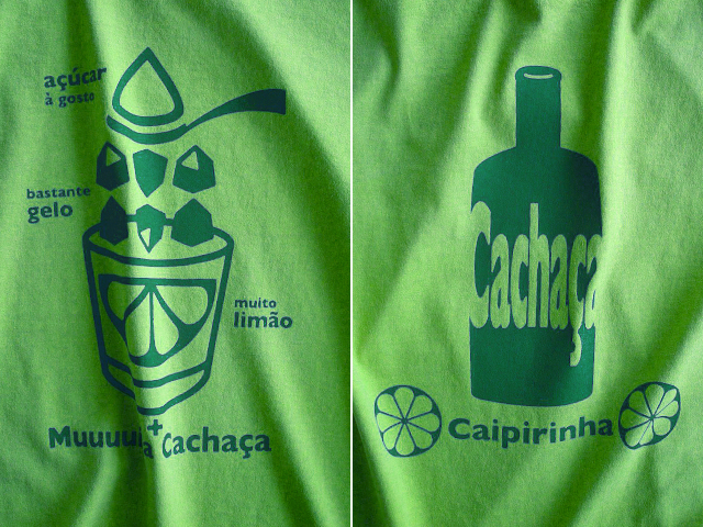 初代カイピリーニャTシャツ-hinolismo迷えるライムグリーン