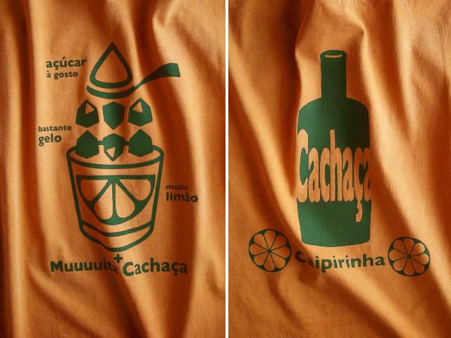 初代カイピリーニャTシャツ-hinolismo迷えるマリゴールド