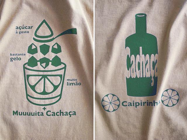 初代カイピリーニャTシャツ-hinolismo迷えるサンドベージュ