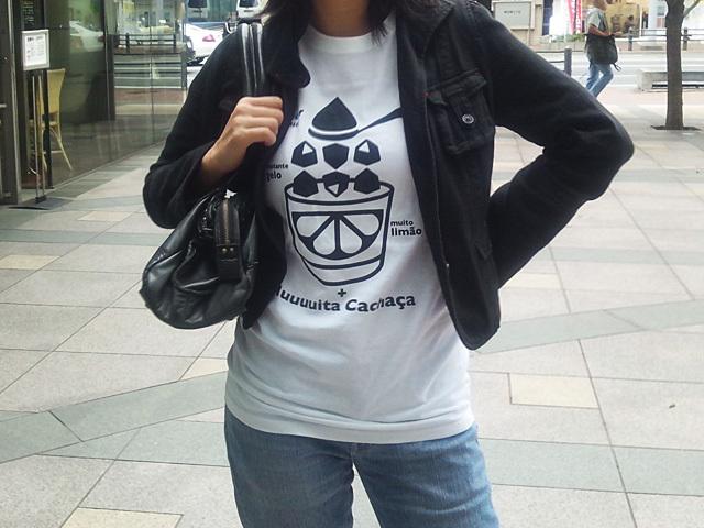 初代カイピリーニャTシャツ-こだわりのお客さん特注色