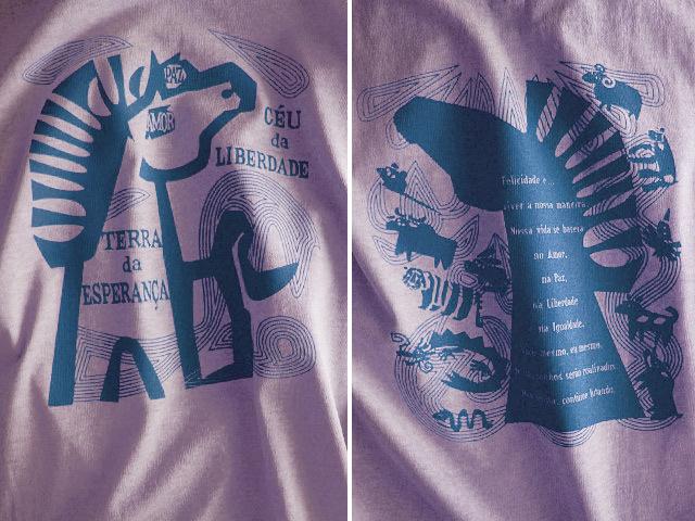 hinolismo迷えるTシャツ-平和と自由を愛するCAVALO(馬)