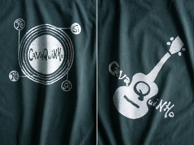 Cavaquinho(カヴァキーニョ)Tシャツ-hinolismo-迷えるアイミドリ