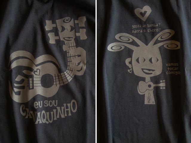 hinolismo迷えるTシャツ EU SOU CAVAQUINHO(わたしはカヴァキーニョ)