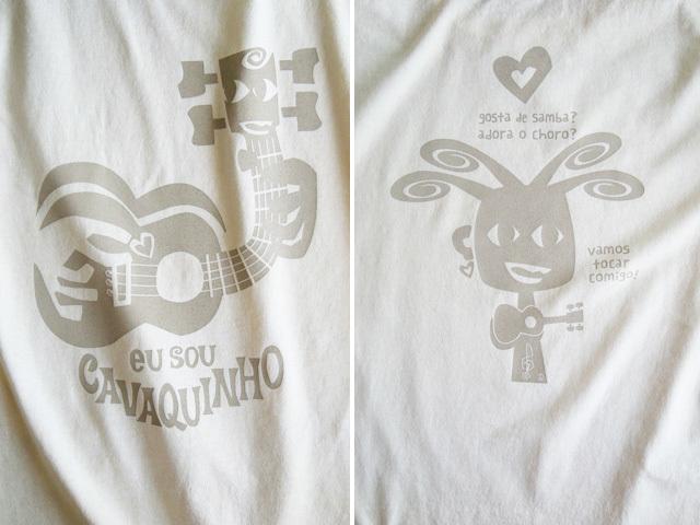 EU SOU CAVAQUINHO(わたしはカヴァキーニョ)Tシャツ-hinolismo-迷えるナチュラル