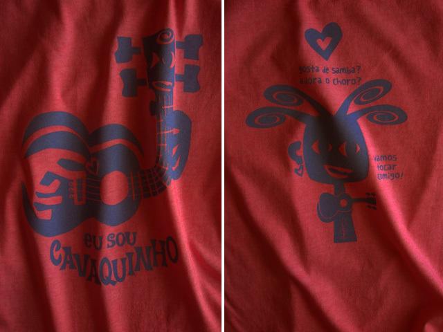 EU SOU CAVAQUINHO(わたしはカヴァキーニョ)Tシャツ-hinolismo-迷えるヴェルメーリョ