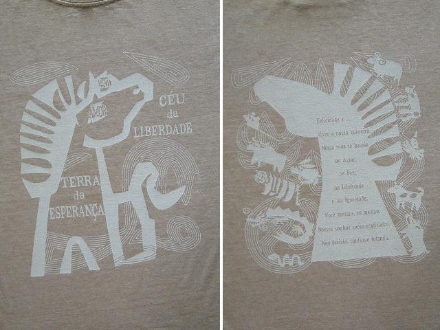 hinolismo-ヒノリズモ-迷えるTシャツ-愛と平和と自由と平等のCAVALO(馬)