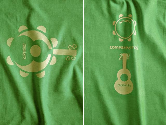 hinolismo迷えるTシャツ-Companheiros-コンパニェイロス-パンデイロとカバキーニョの関係