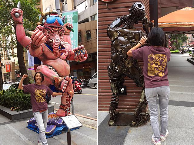 hinolismo迷えるTシャツ コラサォン(魂)とアルコイリス(虹)