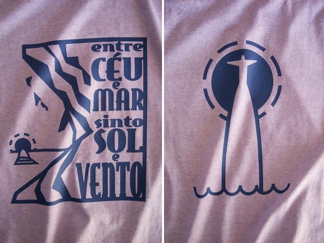Morro de Corcovado-コルコバードの丘Tシャツ-hinolismo-迷えるライラック