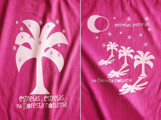 Estrelas(エストレラス)Tシャツ-hinolismo-迷えるチェリーレッド