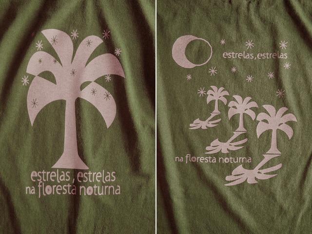 Estrelas(エストレラス)Tシャツ-hinolismo-迷えるカーキ