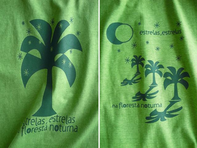 hinolismo迷えるTシャツライムグリーン-Estrelas(エストレラス)