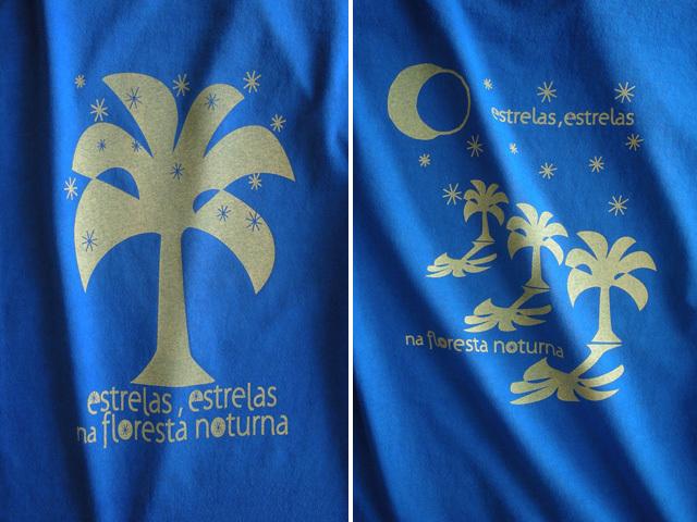 Estrelas(エストレラス)Tシャツ-hinolismo-迷えるマリンブルー