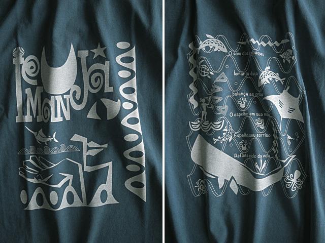 海のオリシャ、イエマンジャTシャツ-hinolismo-迷えるアイミドリ