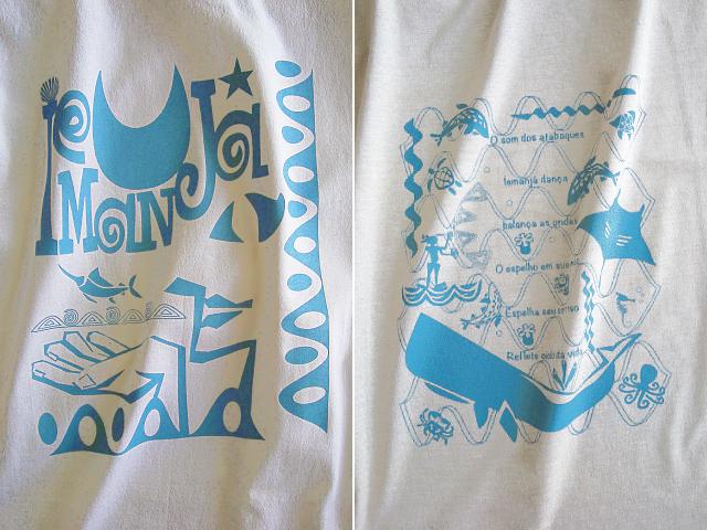 海のオリシャ、イエマンジャ(IEMANJA)Tシャツ-hinolismo-迷えるナチュラル