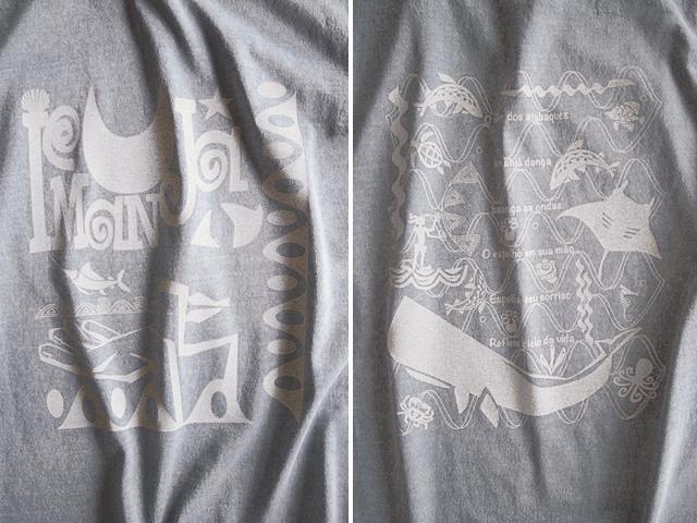 海のオリシャ、イエマンジャ(IEMANJA)Tシャツ-hinolismo-迷えるウスズミ