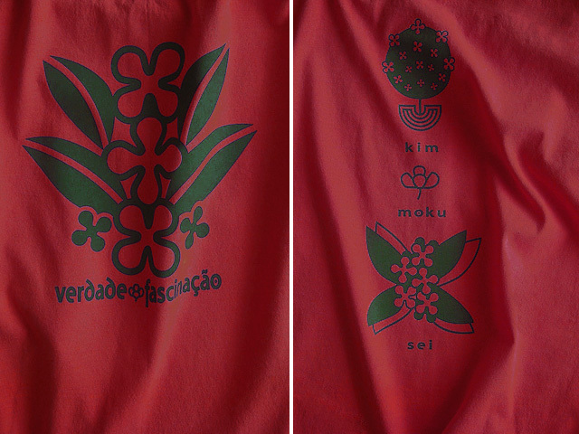 hinolismo迷えるTシャツ-ヴェルメーリョ-金木犀の花言葉-真実と陶酔