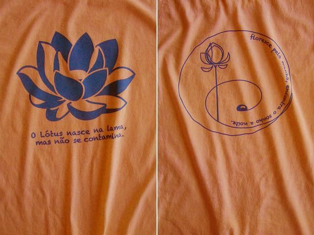 ロータス-Lotus-蓮Tシャツ-hinolismo-迷えるマリーゴールド