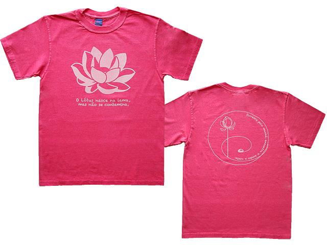 Lotus(ロータス)Tシャツ-泥より出づるも泥に染まらず-ブラジルと日本をTシャツでデザインするお店hinolismo