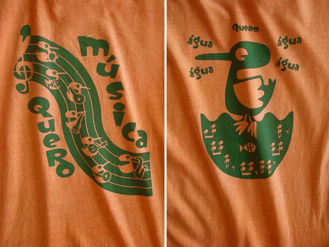 hinolismo迷えるTシャツマリゴールド-Quero Musica(音楽がほしい)