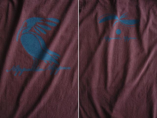 朱鷺-トキTシャツ-hinolismo-迷えるボルドー