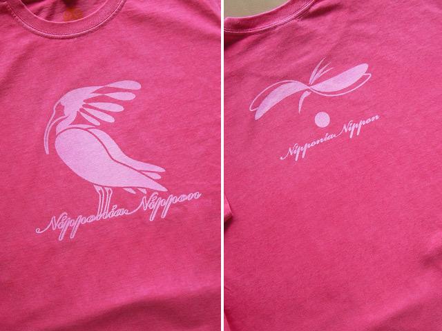 hinolismo-朱鷺トキTシャツ-こだわるお客さまの迷えるTシャツカラー公開