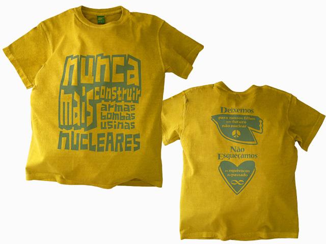 hinolismo-入魂の反核Tシャツ-ブラジルと日本をTシャツでデザインするお店ヒノリズモ