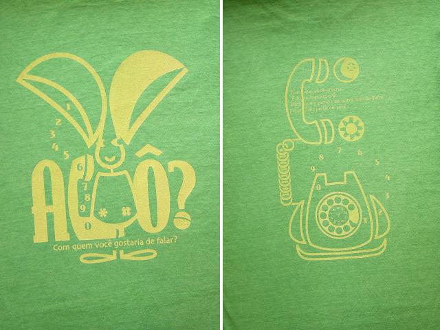 hinolismo-ヒノリズモ-迷えるTシャツ-Orelhao(オレリャォン)と黒電話