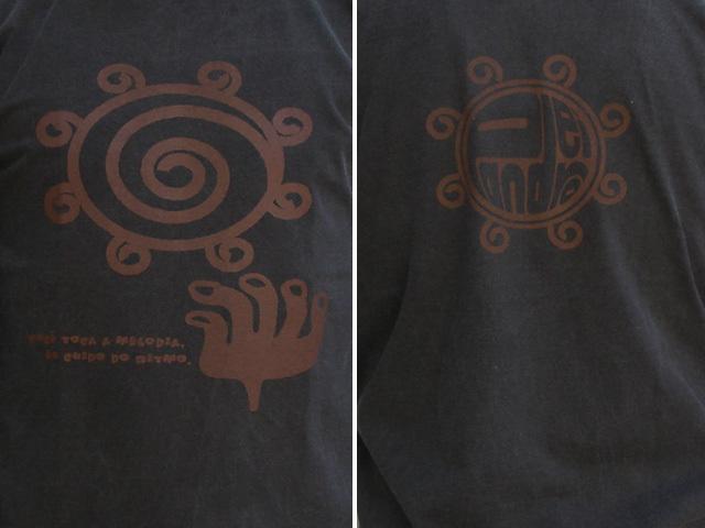 hinolismo迷えるTシャツ Pandeiro(パンデイロ)