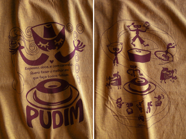 hinolismo迷えるTシャツ PUDIM(プヂン)