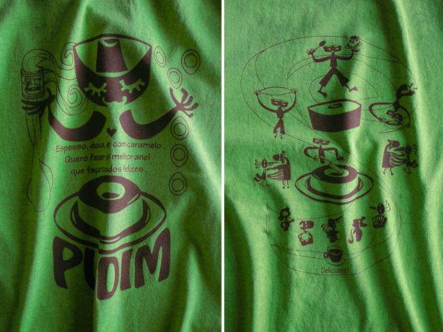 hinolismo迷えるTシャツ PUDIM(プヂン)-ブラジルプリン