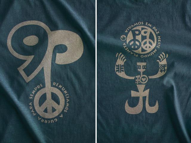 非戦平和&憲法9条リスペクトTシャツ-hinolismo-迷えるアイミドリ