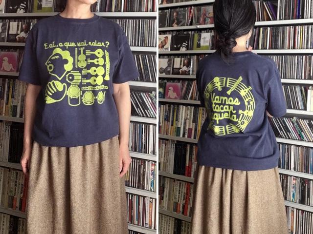 Roda(ホーダ)Tシャツ-hinolismo迷えるネイビー