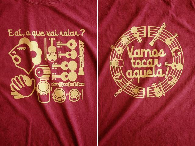 Roda(ホーダ)Tシャツ-hinolismo迷えるヴェルメーリョ