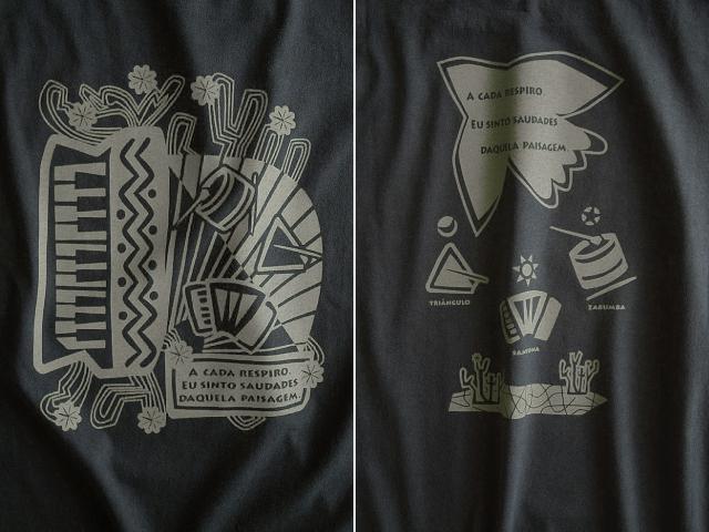 Nordeste-ノルデスチTシャツ-hinolismo-迷えるブラック