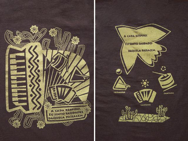 hinolismo迷えるTシャツNordeste(ノルデスチ)