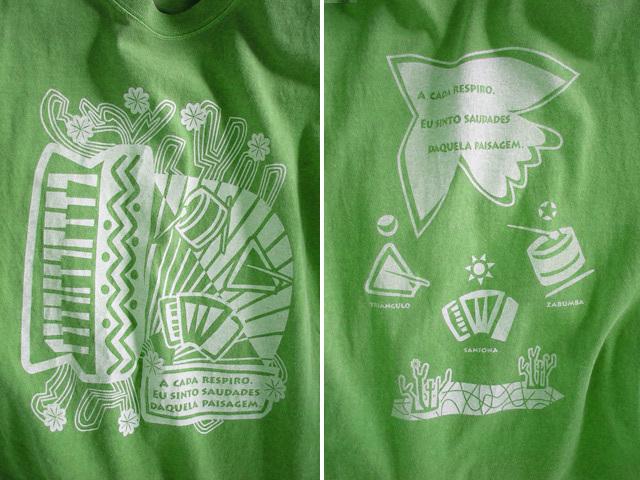 hinolismo迷えるTシャツ Nordeste-ノルデスチ