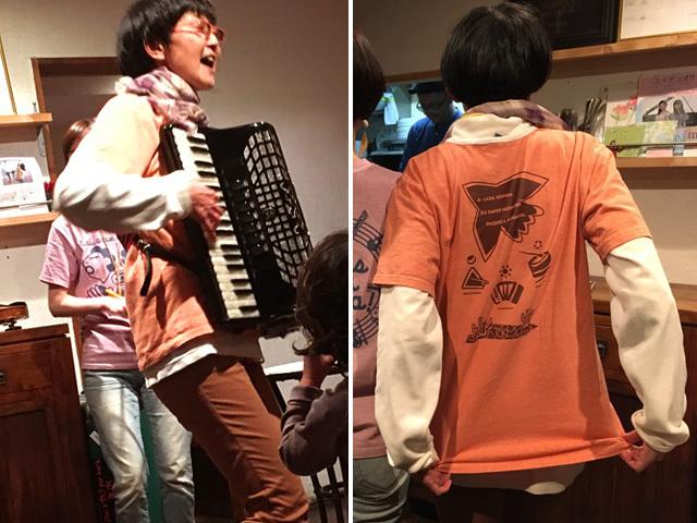 hinolismo迷えるTシャツNordeste(ノルデスチ)とRoda(ホーダ)