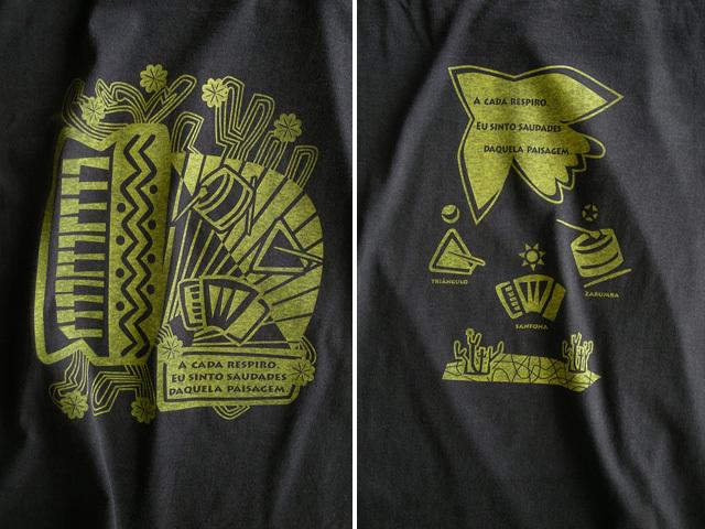 ノルデスチTシャツ-hinolismo-迷えるブラック