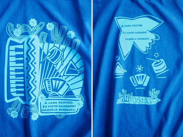 hinolismo迷えるTシャツ-マリンブルー-Nordeste(ノルデスチ)