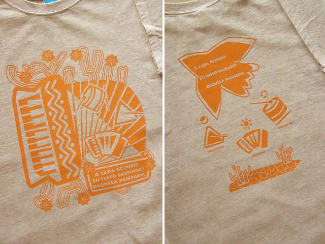 ノルデルチTシャツ-ブラジルと日本をTシャツでデザインするお店hinolismo
