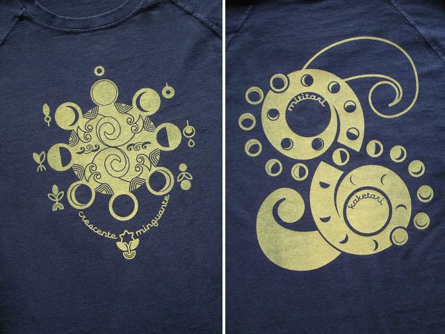 hinolismo-迷えるTシャツ-Lua(ルア)-月の満ち欠け