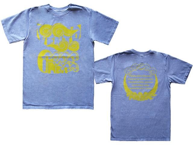 風と波Tシャツ